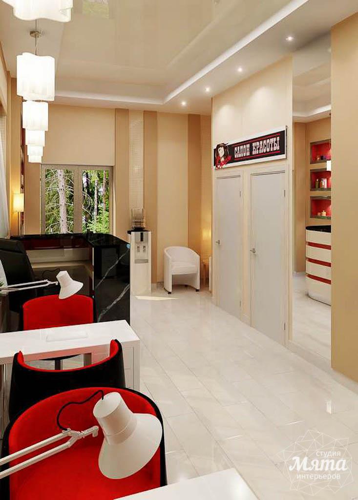 Дизайн интерьера парикмахерской по ул. Рябинина 19 img1894791305