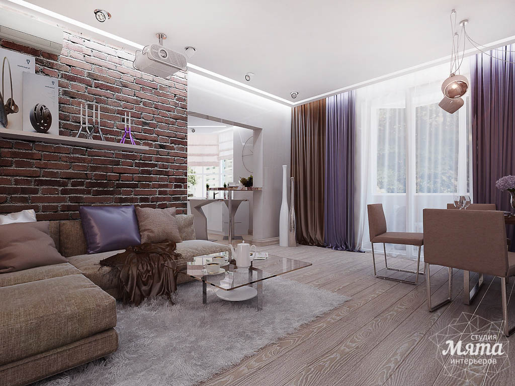 Дизайн интерьера двухкомнатной квартиры по ул. Малышева 38 img1441153011