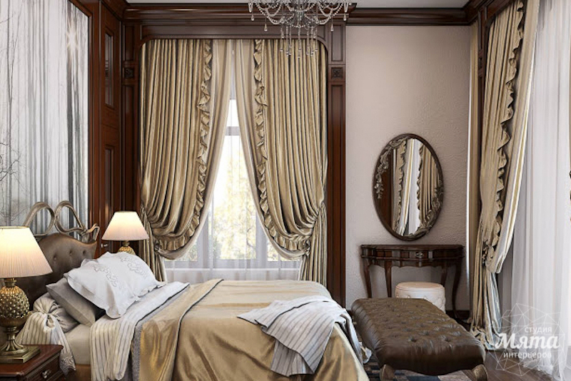 Дизайн интерьера коттеджа классическом стиле в Карасьозерске img1398926948