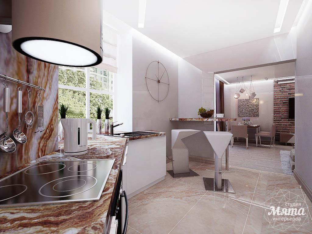 Дизайн интерьера двухкомнатной квартиры по ул. Малышева 38 img651800213