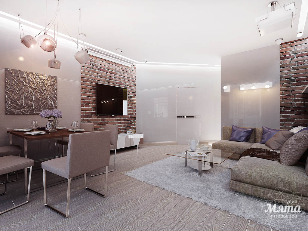 Дизайн интерьера двухкомнатной квартиры по ул. Малышева 38 img270487442