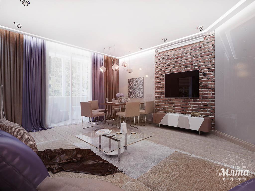 Дизайн интерьера двухкомнатной квартиры по ул. Малышева 38 img948244427