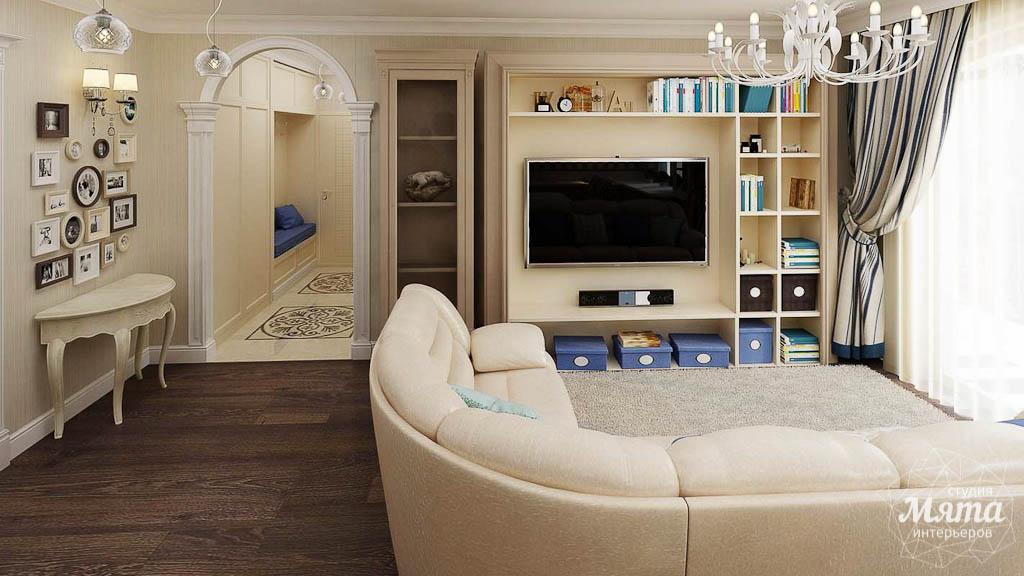 Дизайн интерьера однокомнатной квартиры по ул. Юмашева 10 img1224625836