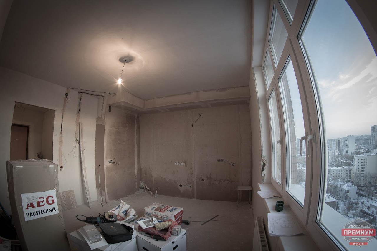 Дизайн интерьера  и ремонт трехкомнатной квартиры по ул. Машинная 44 28