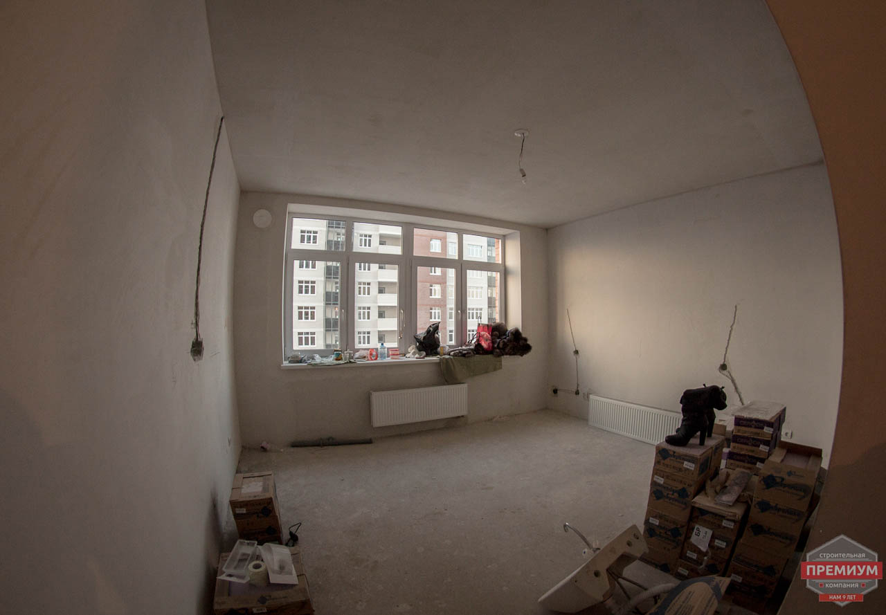 Дизайн интерьера  и ремонт трехкомнатной квартиры по ул. Машинная 44 37
