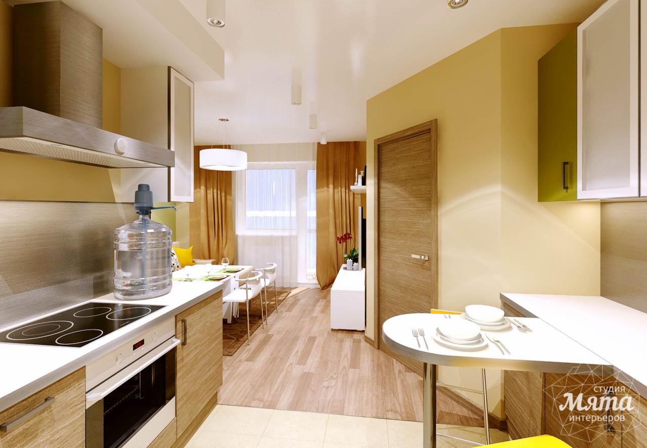 Дизайн интерьера двухкомнатной квартиры по ул. Машинная 40 img1928578792