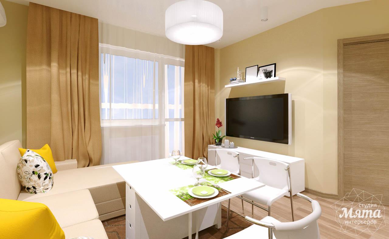 Дизайн интерьера двухкомнатной квартиры по ул. Машинная 40 img617203613
