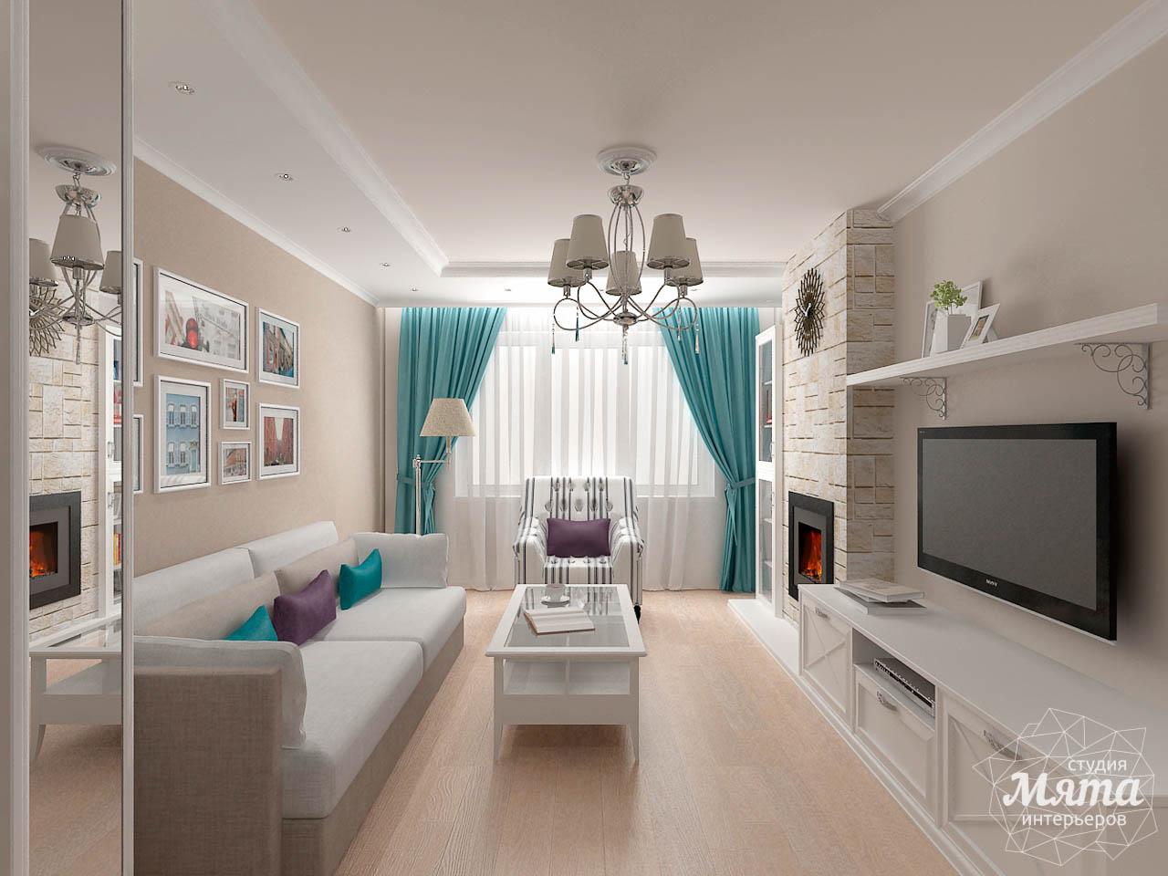 Дизайн интерьера двухкомнатной квартиры по ул. Шаумяна 93 img1798370106