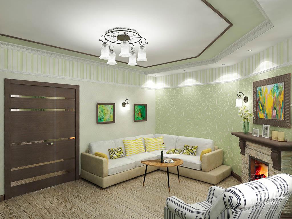 Дизайн интерьера и ремонт трехкомнатной квартиры по ул. Авиационная, 16  img1236251040