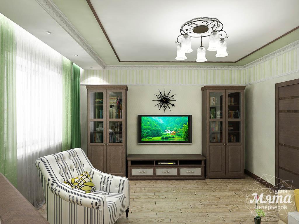 Дизайн интерьера и ремонт трехкомнатной квартиры по ул. Авиационная, 16  img1729343261