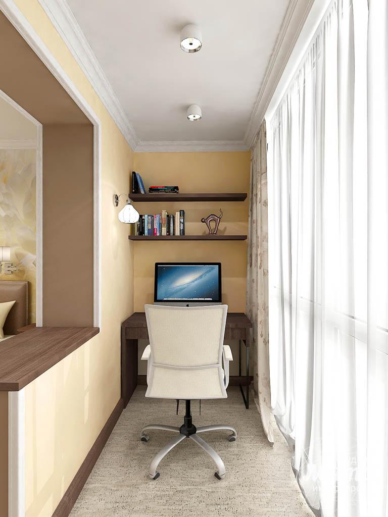 Дизайн интерьера и ремонт трехкомнатной квартиры по ул. Авиационная, 16  img562288567
