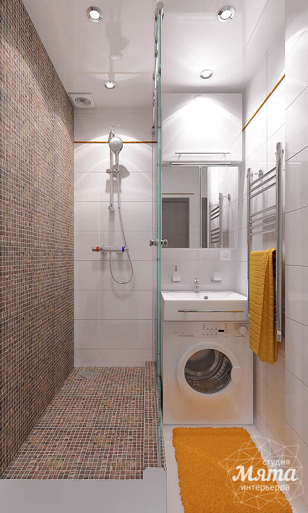Дизайн интерьера и ремонт ванной комнаты и прихожей по ул. Крауля 70 img709285574