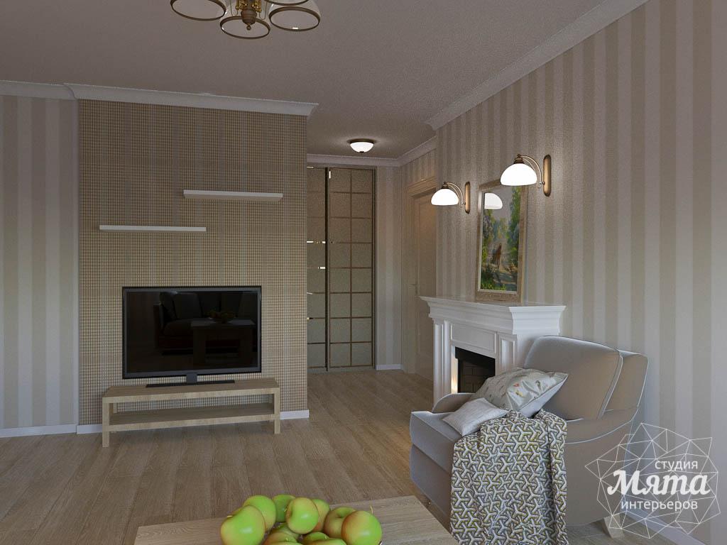 Дизайн интерьера однокомнатной квартиры по ул. Бажова 161 img1226453853