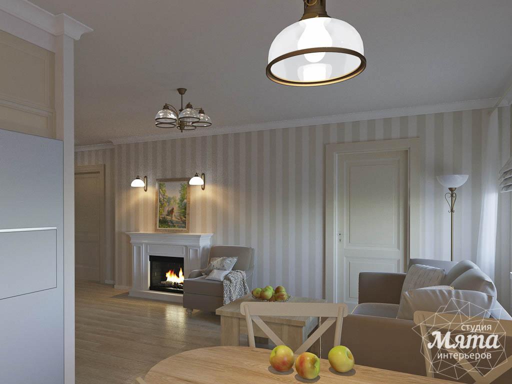 Дизайн интерьера однокомнатной квартиры по ул. Бажова 161 img132625950