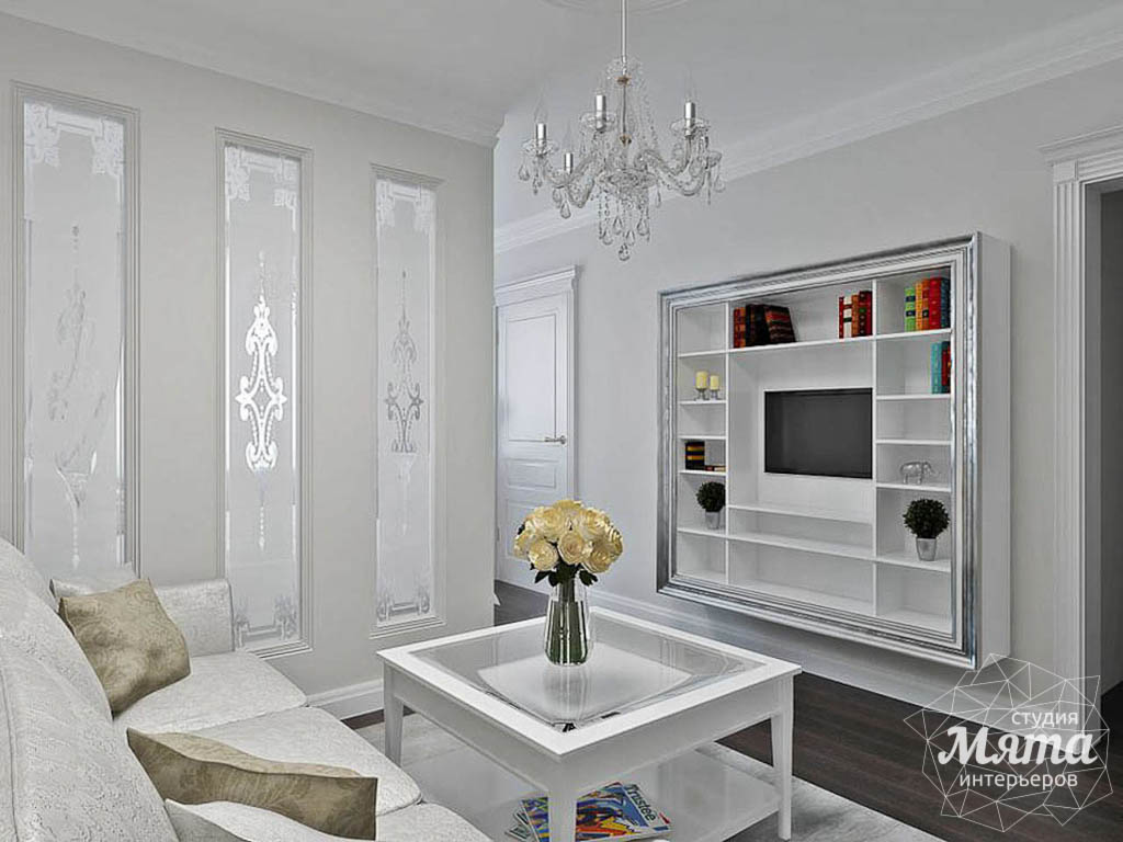 Дизайн интерьера однокомнатной квартиры по ул. Шевченко 19 img864637923