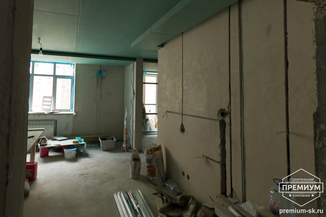 Дизайн интерьера и ремонт четырехкомнатной квартиры по ул. Союзная 2 10