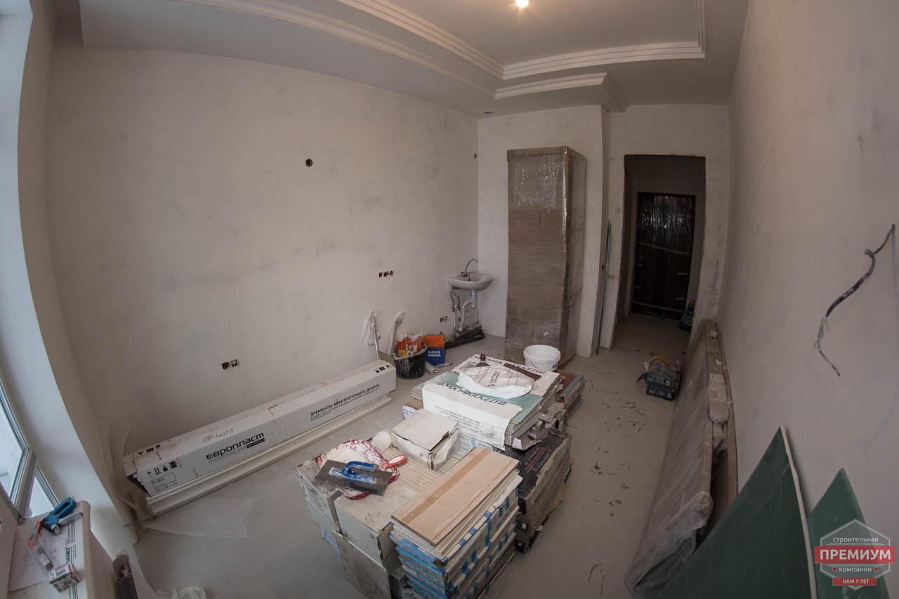 Дизайн интерьера и ремонт трехкомнатной квартиры в Карасьозерском 2 21