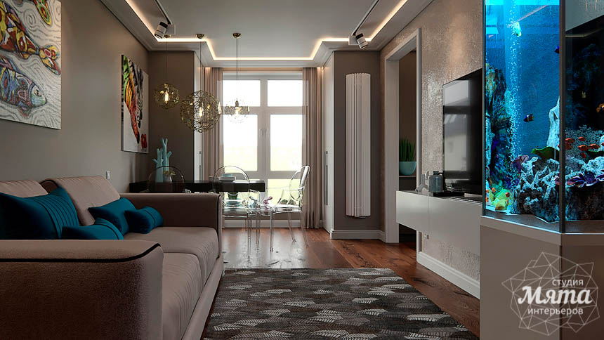 Дизайн интерьера трехкомнатной квартиры по ул. Шейнкмана 88 img116185850