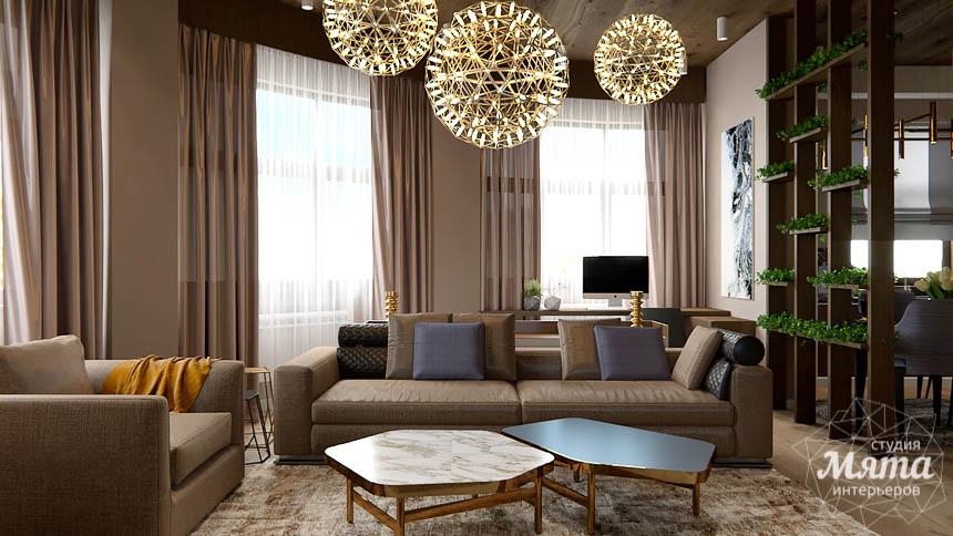 Дизайн интерьера двухкомнатной квартиры в Сочи img82217490