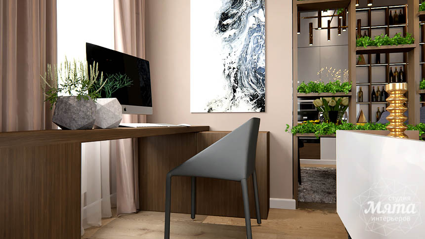 Дизайн интерьера двухкомнатной квартиры в Сочи img1281038226