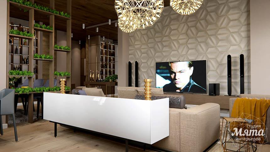 Дизайн интерьера двухкомнатной квартиры в Сочи img1618460387