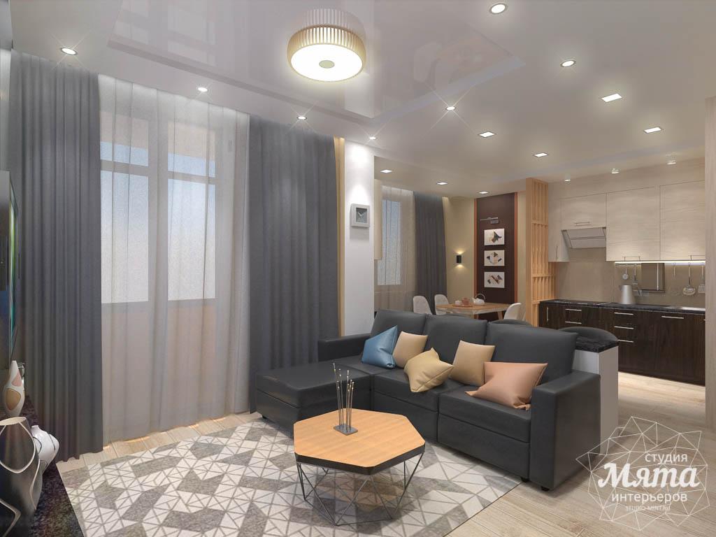 Дизайн интерьера однокомнатной квартиры в ЖК Крылов img1306495080