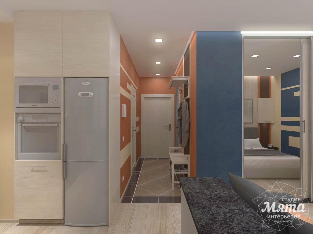 Дизайн интерьера однокомнатной квартиры в ЖК Крылов img1110184972