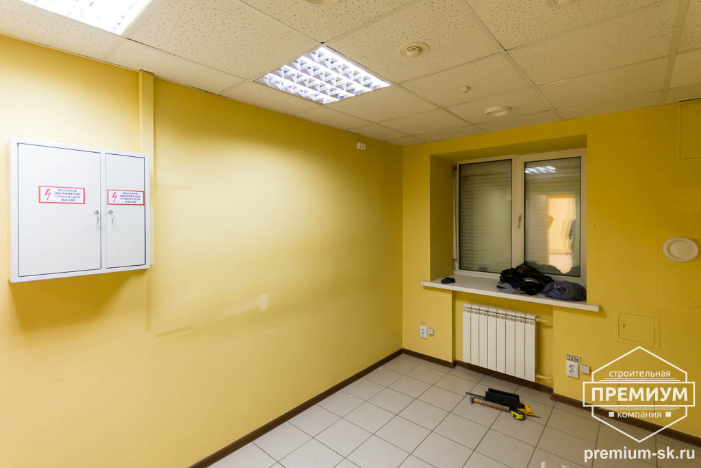 Дизайн интерьера и ремонт офиса по ул. Шаумяна 93 23