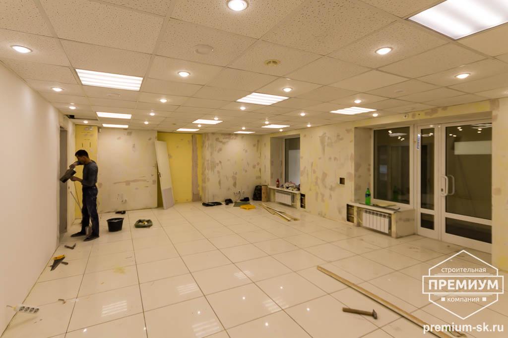 Дизайн интерьера и ремонт офиса по ул. Шаумяна 93 29