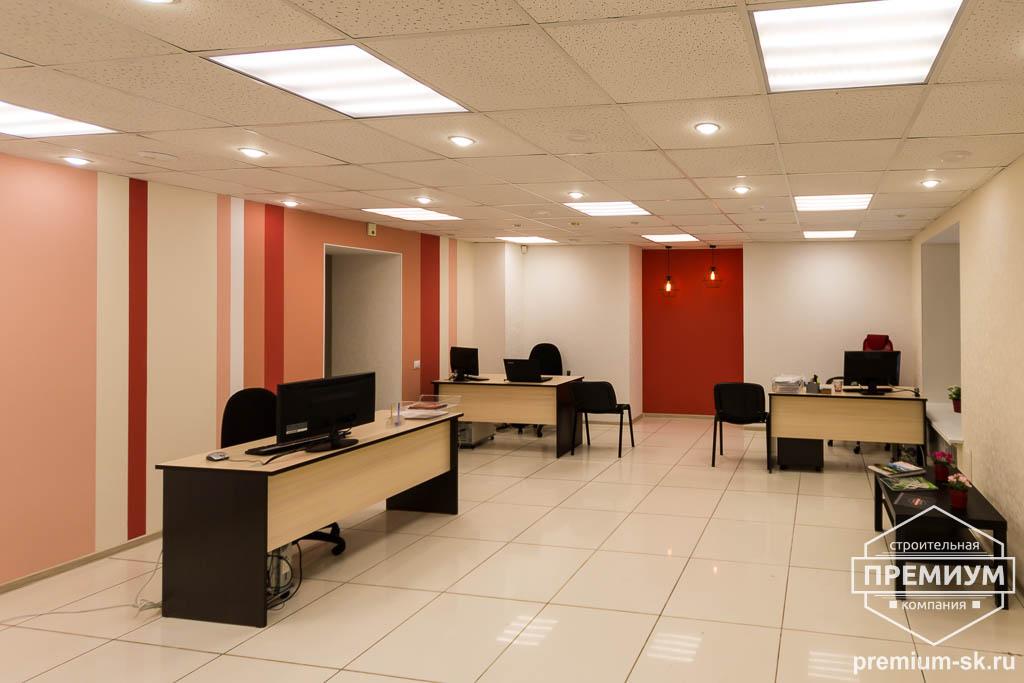 Дизайн интерьера и ремонт офиса по ул. Шаумяна 93 39