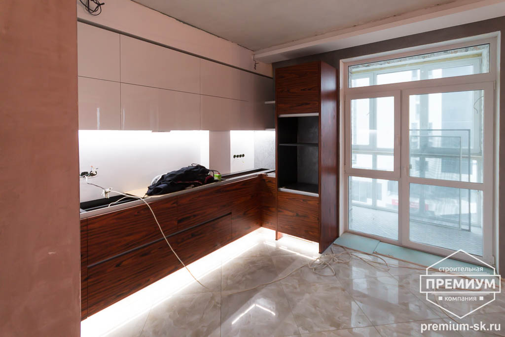 Дизайн интерьера и ремонт трехкомнатной квартиры по ул. Татищева 49 72
