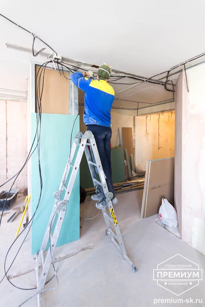 Дизайн интерьера и ремонт трехкомнатной квартиры по ул. Кузнечная 81 40