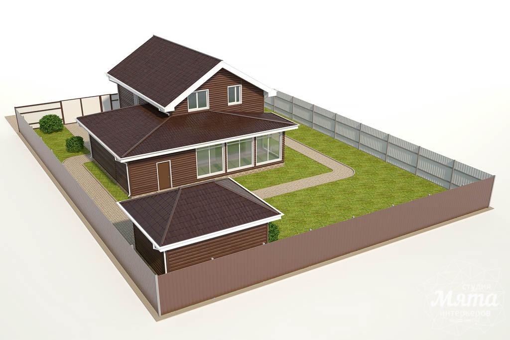 Дизайн фасада коттеджа в КП Алые Паруса img398102093