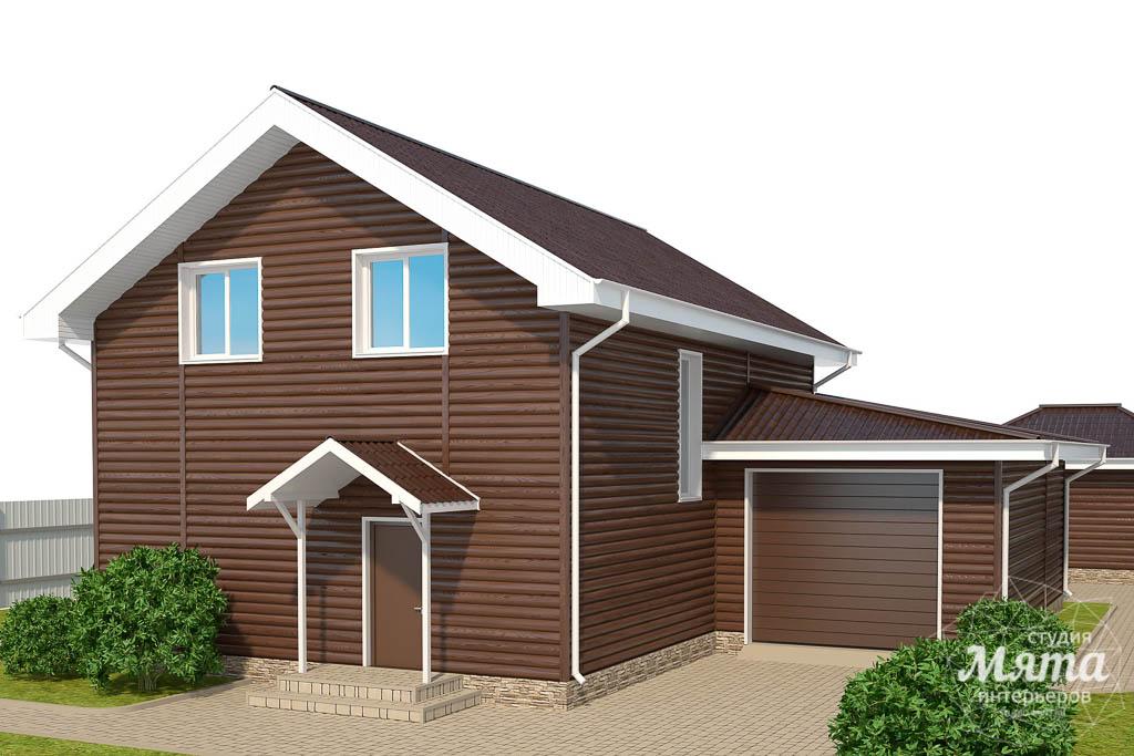 Дизайн фасада коттеджа в КП Алые Паруса img213218167