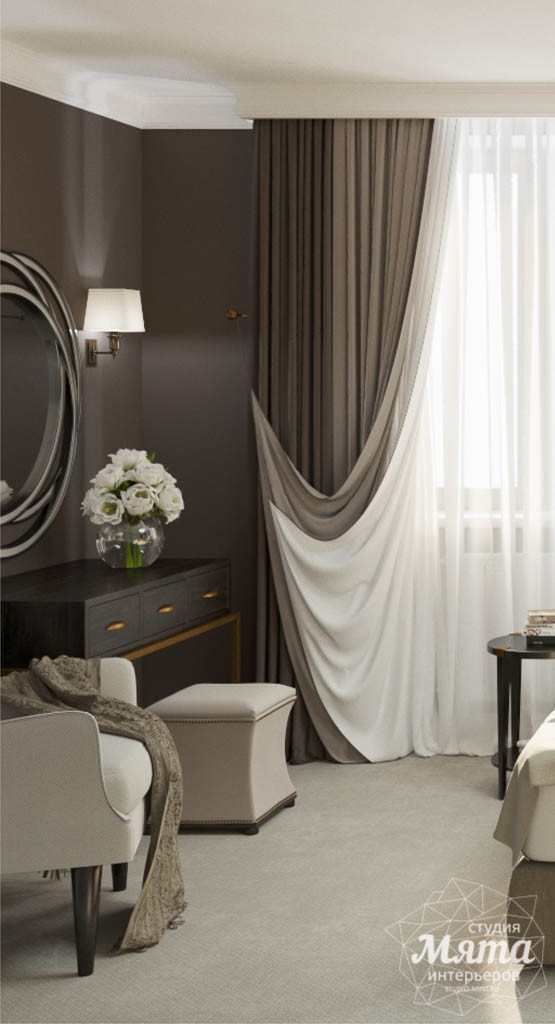 Дизайн интерьера спальни в ЖК Малевич img1145535477