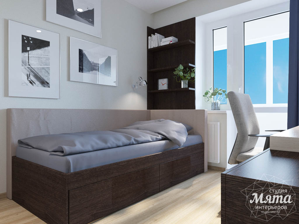 Дизайн интерьера трехкомнатной квартиры по ул. Куйбышева 102 img971642446