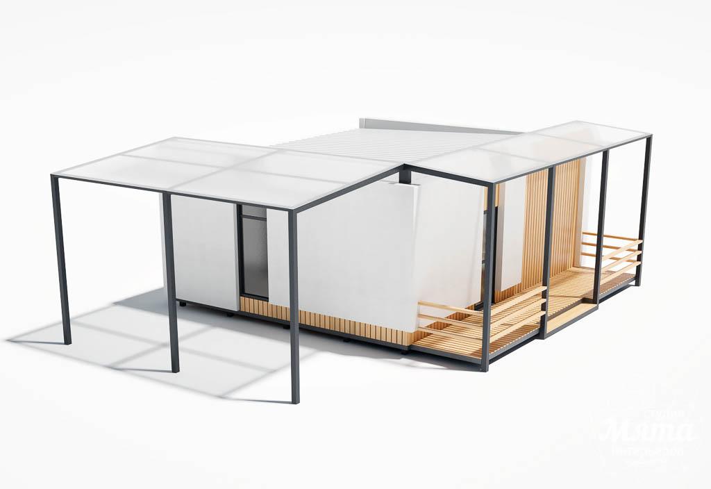 Дизайн фасада модульного дома в п. Новое Созвездие img1407399664