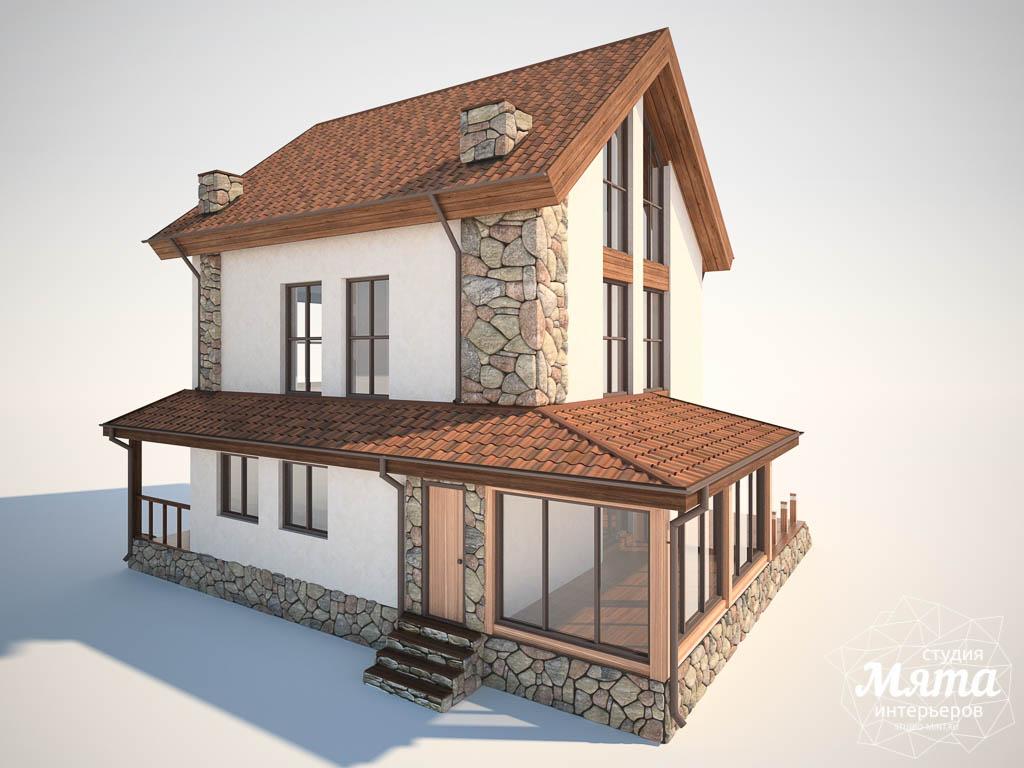 Дизайн фасада коттеджа в Хрустальном img450221660