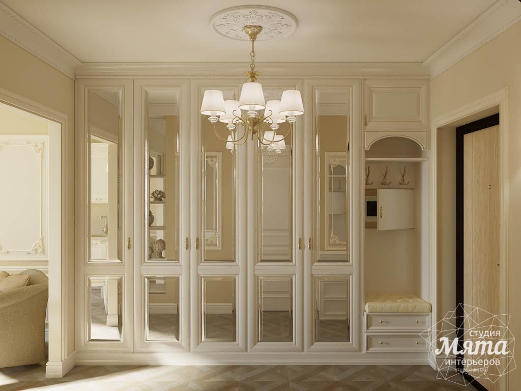 Дизайн интерьера квартиры - студии в ЖК Свой Круг img612960230