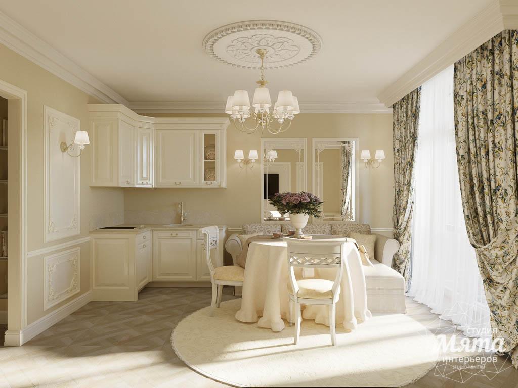 Дизайн интерьера квартиры - студии в ЖК Свой Круг img1880232697