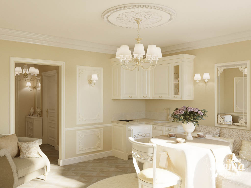 Дизайн интерьера квартиры - студии в ЖК Свой Круг img1498183529