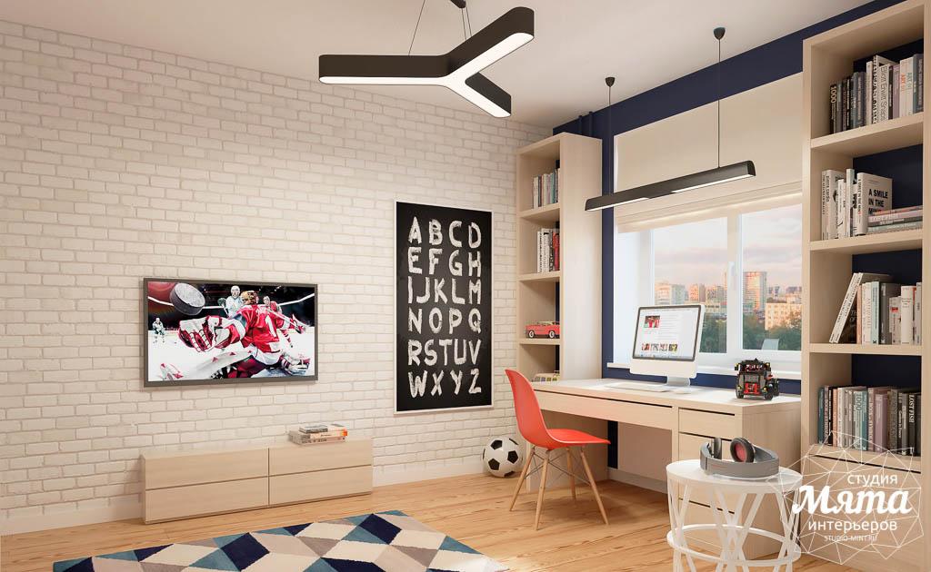 Дизайн интерьера детской комнаты в ЖК Антарес img1223188406