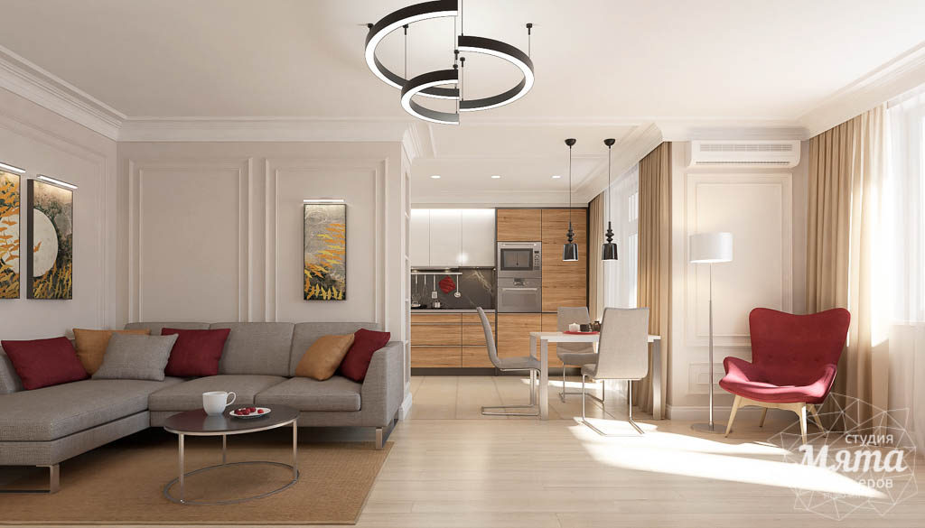Дизайн интерьера трехкомнатной квартиры в ЖК Малевич img1072805653
