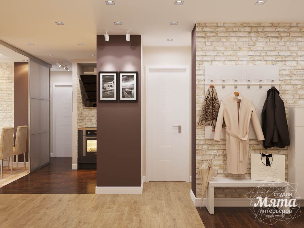 Дизайн интерьера трехкомнатной квартиры по ул. Фурманова 103 img1839015224