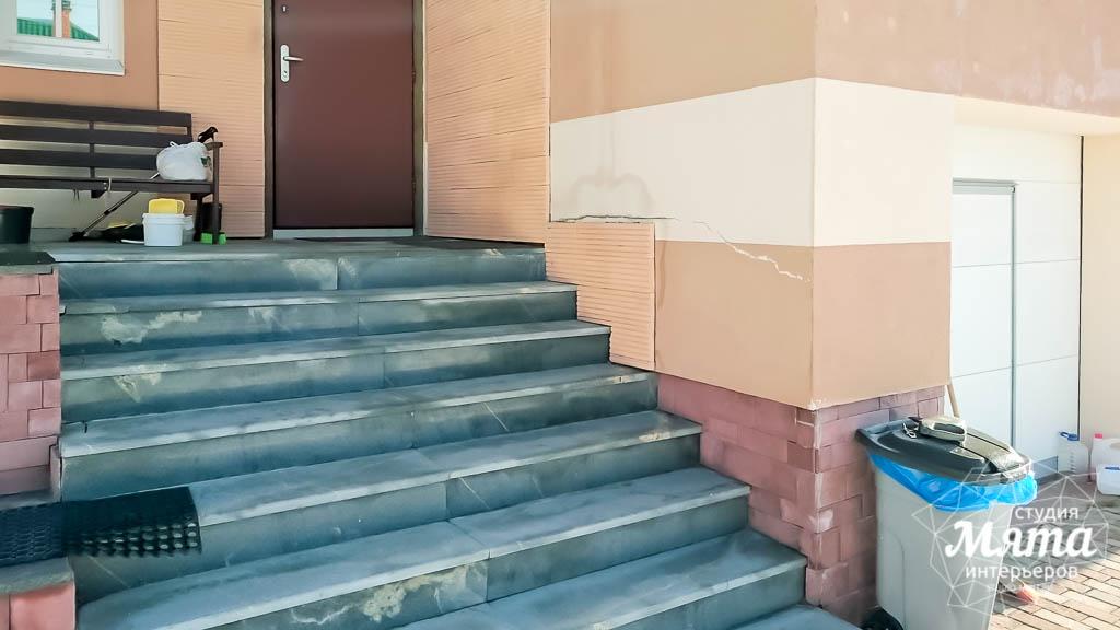 Дизайн проект фасада дома 215 м2 в п. Санаторный 4