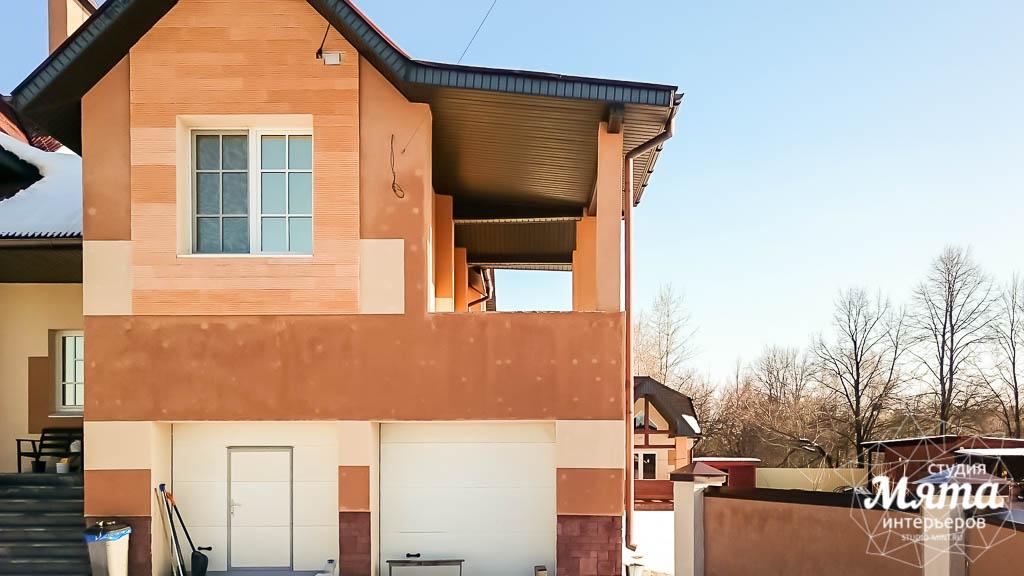 Дизайн проект фасада дома 215 м2 в п. Санаторный 11