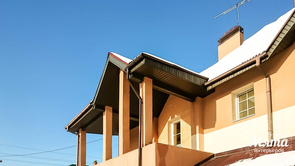 Дизайн проект фасада дома 215 м2 в п. Санаторный 16