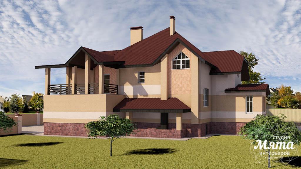 Дизайн проект фасада дома 215 м2 в п. Санаторный img1212197372