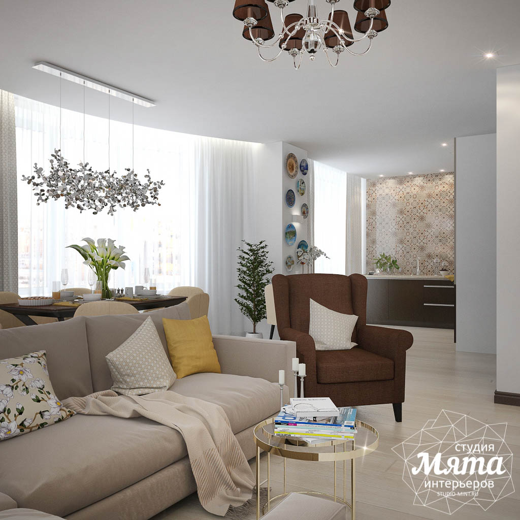 Дизайн-проект двухкомнатной квартиры в ЖК Чемпион Парк img1234260724