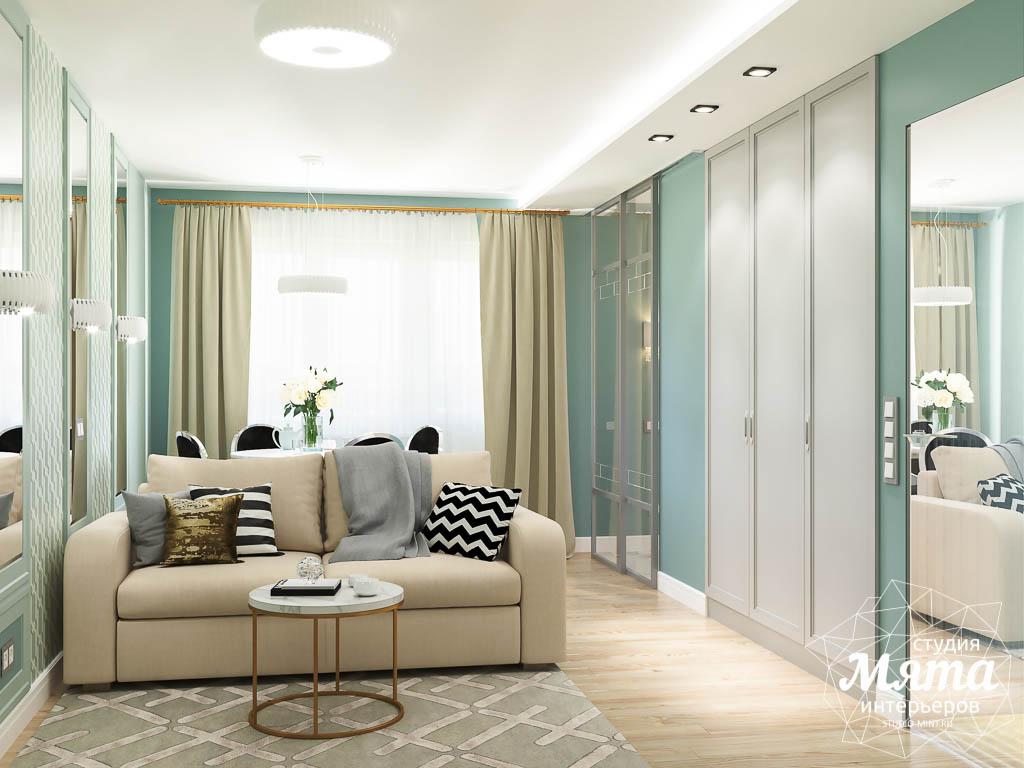 Дизайн интерьера однокомнатной квартиры пер. Встречный д. 5 img584413802
